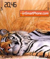 Tiger relax theme screenshot