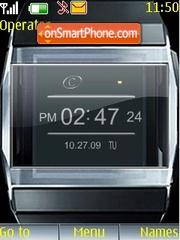 5digital clock theme screenshot