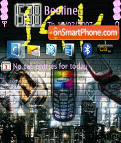 Samsung SGH theme screenshot