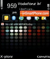 Color Dots by ishaque theme screenshot