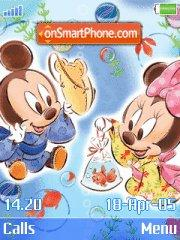 Mickey theme screenshot