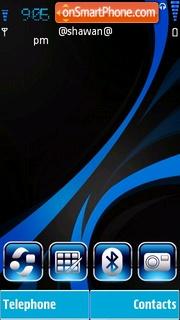 Blue by Shawan es el tema de pantalla