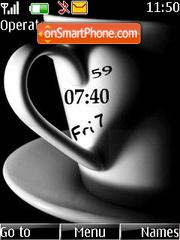 7heart clock theme screenshot