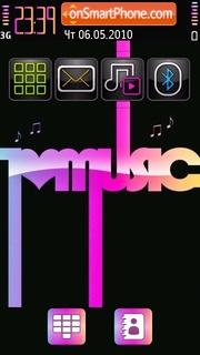 Music color tema screenshot