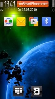 Planet 07 tema screenshot