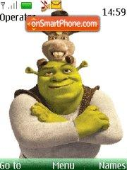 Shrek forever theme screenshot
