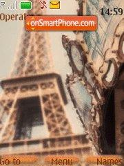 Paris tema screenshot