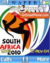 South Africa 2010 theme screenshot