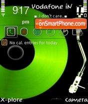 Скриншот темы iDj By ishaque