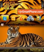 Tigra theme screenshot