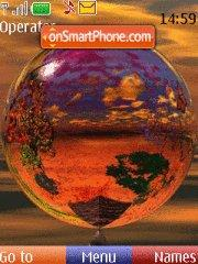 Скриншот темы Mundo de colores