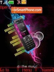 Nokia 5310 theme screenshot