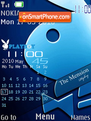 Nokia Playboy 2010 theme screenshot