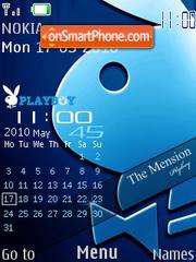 Скриншот темы Nokia Playboy 2010