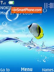 Скриншот темы Red Sea Fish