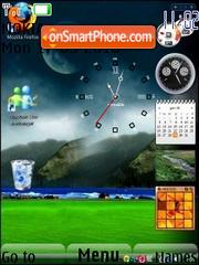 Reloj Escritorio theme screenshot