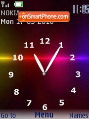 Reloj Nokia Lince theme screenshot