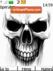 Skull tema screenshot