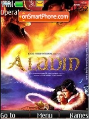Aladin (Bollywood) theme screenshot