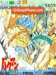 Bakuman theme screenshot