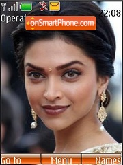 Deepika Padukone theme screenshot