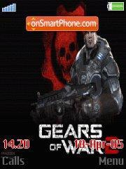 Gears Of War Theme es el tema de pantalla