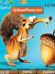 Squirrel Scrat theme screenshot