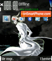 Ulquiorra theme screenshot