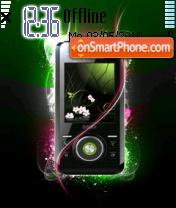 Mobile theme screenshot