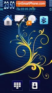 Blue Wave 03 theme screenshot