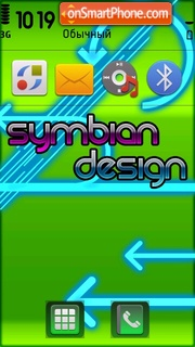 Symbian Design theme screenshot