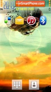 Скриншот темы Fly Car