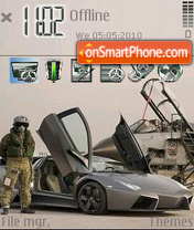 Reventon Vs Jet theme screenshot