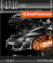Black car by Nokki theme screenshot