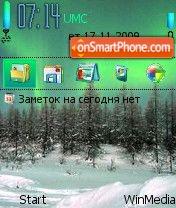 Winter by Nokki es el tema de pantalla