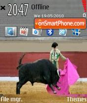 Matador theme screenshot