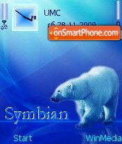 Symbian by Nokki es el tema de pantalla