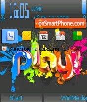 Play by Nokki theme screenshot