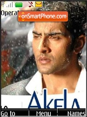 Akela (Bollywood) theme screenshot