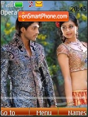Allu Arjun (Varudu) theme screenshot