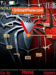 Spiderman Clock theme screenshot
