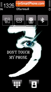 Dont Touch 09 Theme-Screenshot