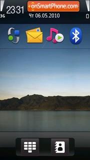 Скриншот темы Mini ipad
