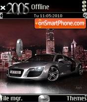 Скриншот темы Animated Audi Theme