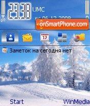 Sneg by Nokki theme screenshot