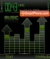Скриншот темы Music by Nokki