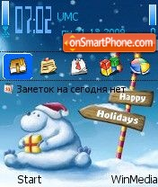 Holidays2 by Nokki theme screenshot