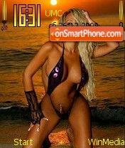 Blondi by Nokki es el tema de pantalla
