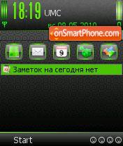 Acid Green SV 7-8.0os es el tema de pantalla