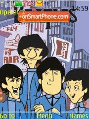 Beatles cartoon theme screenshot